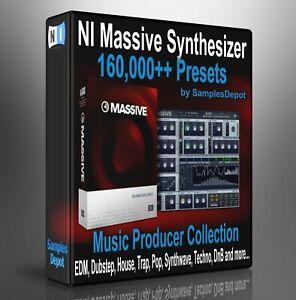 160,000 NI Massive Presets Pack - Ableton, Cubase, Logic Pro, FL Studio, Bitwig