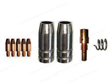 Verschleissteile MB25/250 Gasdüse, MIG/MAG mit 0,8 Stromdüsen, Feder Düsenstock