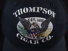 ~ Thompson Cigar Co. ~ Tampa, Florida Baseball Cap Adjustable BLUE Hat Cotton