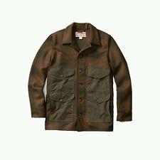 $395 FILSON YUKON WOOL SEATTLE CRUISER JACKET S CAMO BROWN GREEN SHADOW PLAID