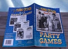 1997 Three Stooges Collector Party Games Book Compiled by Matt Kavet