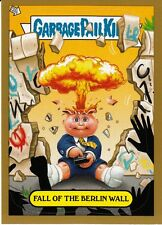 2012 GARBAGE PAIL KIDS BNS 1 ADAM BOMB GOLD FALL OF THE BERLIN WALL #10/10 RARE