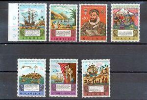 Macao Macau Omnibus 1972 Lusíadas Issue MNH