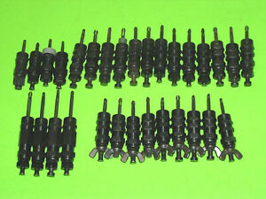 "30pc Wedge Lock 5/32"" Hex Nut Wing Nut Draw Clecos 0-1/2"" Grip Range Sheet Metal"