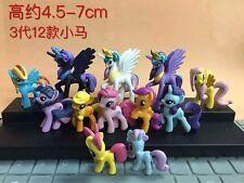 My Litle Pony anime figures set of 12pcs  Model Toy figure figures YT44 AUCTION