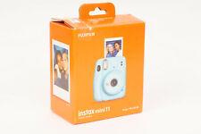 Fujifilm Instax Mini 11 Instant Camera Sky Blue With 1 Pack of Film