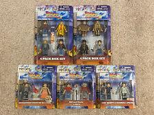 Back to the Future II III Minmates + 2-packs lot