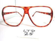 Vintage 80s Large Aviator/Driving Sun/Eyeglass Frame Canton-1 Tortoise (Ltd-25)