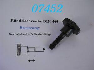 1x Sterngriffschraube Schraube Rändelschraube M10 x 28 Griffdurchmesser 55 mm