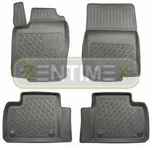 Premium-3D-TPE-Gummifußmatten für Mercedes GLE-Klasse AMG W166 Steilheck Gelän2E