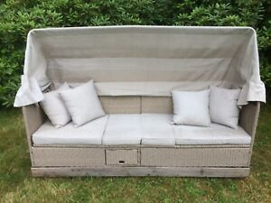 Poly-Rattan Gartenliege Lounge-Strandkorb 2 Jahre alt, 66709 Saar