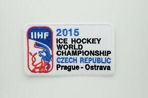 Embroidered Patch Badge IIHF 2015 Czech Republic Ice Hockey World Championship