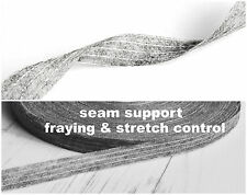 10 mtrs Fusible Stay/Stabillizing Interlining Tape 10mm Tape Neckline Hem Edges