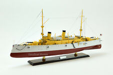 """USS Olympia Protected Cruiser Handmade Wooden Ship Model 36"""" Scale 1/115"""