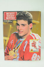Vintage Beckett Hockey Magazine June 1991