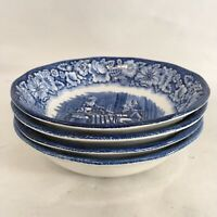 Staffordshire Ironstone Liberty Blue Betsy Ross Dessert Berry Bowl