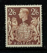 1939/48 Sg 476, 2/6d Brown Arms Issue, LM/Mint with gum. {TT1449-280}