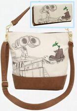 Loungefly Disney Pixar Wall-E Sketch Boot Crossbody Bag & Wallet Set Handbag NWT