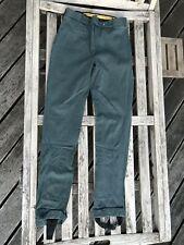 Pantalon d'équitation Orentoile coton vert élastane taille 40 (42)