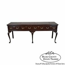 Harden Solid Cherry 18th Century Style Long Queen Anne Sideboard