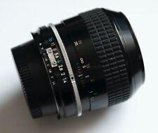 Rare Vintage Nikon 35mm f1.4 AI lens Excellent Condition