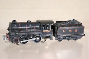 Trix Zwilling Ttr Für Reparatur Vor War Lms Schwarz 0-4-0 Lokomotive 8067 NX