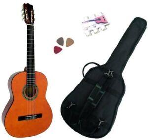 Pack Guitare Classique 1/4 Pour Enfant (4-7ans) Avec 3 Accessoires (Nature)