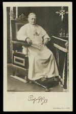antica cartolina S.S. PIO XI PAPA