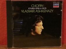 Chopin: Etude by Vladimir Ashkenazy   CD  LIKE NEW BR188