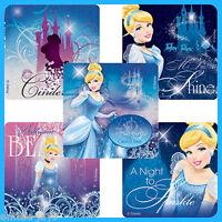 Cinderella Stickers x 5 - Birthday Party Favours Princess Party Disney Princess