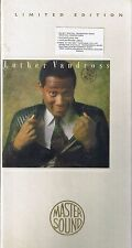 Vandross, Luther Never too much or CD MASTER sound sbm Longbox NEUF emballage d'origine sealed