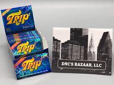 1 1/4 Trip 2 Clear Cellulose Transparent Cigarette Rolling Papers DNC's Bazaar