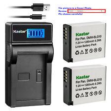 Kastar Battery LCD USB Charger for DMW-BLG10 DMW-BLG10E Panasonic Lumix DMC-GX7