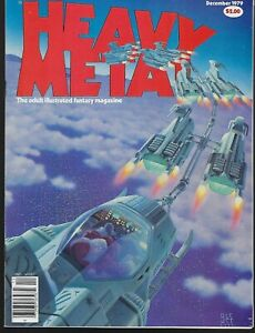 Heavy Metal Magazine Vol 3 # 8 - Dec 1979 - VF-