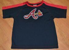 Atlanta Braves Youth Medium 10-12 Baseball Jersey MLB Nice Kids Alternate Logo