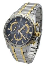Citizen AT4004-52E Eco Drive Sapphire Perpetual Calendar Atomic Radio Mens Watch
