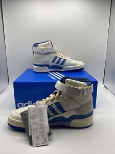 adidas Forum 84 White Blue Men's Size FY7793