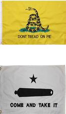 3x5 Come and Take It Flag Don't Tread On Me Flag  Wholesale Lot USA SHIP