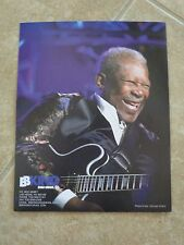 BB King Blues Guitar Live 8x10  OFFICIAL Concert Merch Booth Photo #5