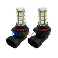 2x 9006 HB4 18-SMD 5050 LED Fog Lights DRL Driving Lamp White Color Strobe