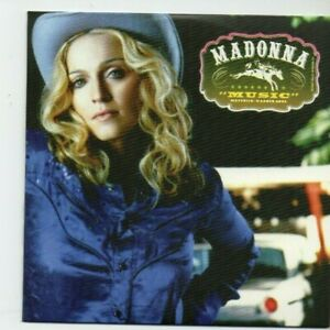 MADONNA : MUSIC + 1 BONUS ♦ Limited Edition Album ♦ AMERICAN PIE, DON'T TELL ME