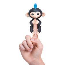 Wowwee alevines Bebé Mono Electrónico Interactivo Juguete Robot Mascota Negro Y Azul