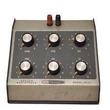 Vintage Heathkit In 11 Decade Resistance Test Unit