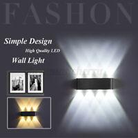 6/8 Double Head LED Wall Light Aluminum Room Indoor Garden Waterproof Lamp