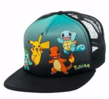 Pokemon Original Starters Logo Adjustable Snapback Cap/Hat
