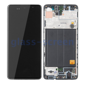 "Samsung Galaxy A51 A515 OLED 6.33"" Teardrop Notch LCD Screen Digitizer Frame HQ"