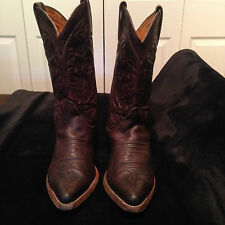 Women's Sancho Cowboy Boots All Leather Western Size 36