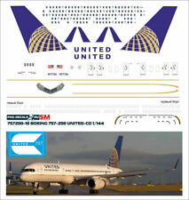 1/144 PAS-DECALS EASTERN EXPRESS Boeing 757-200-10 United