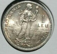 1 Leu 1910, Romania .BU- Mint luster.