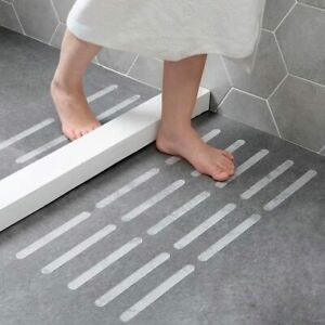 STYLISH NON SLIP ANTI SKID BATH SHOWER MAT SAFETY STRONG TEXTURED STICKERS